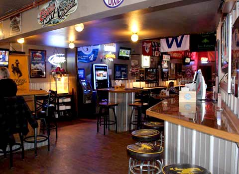 dining in Cody sports bars grills in Cody WY