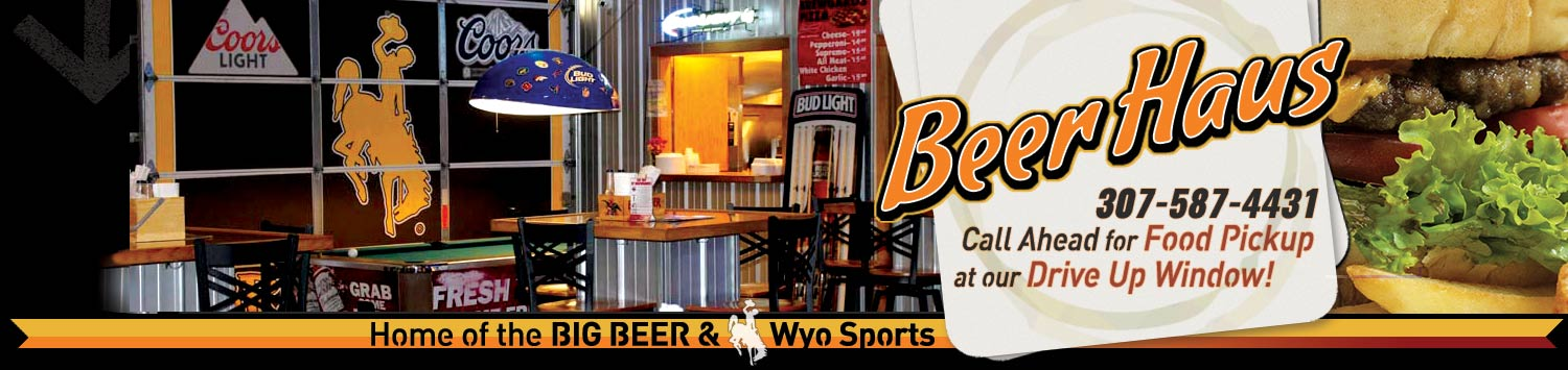 Brewgards Bar Grill Sports Bar Package Liquor Store Dining Places to Eat Drink Cody Wyoming Cowboys Games Football